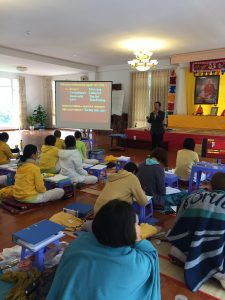 Dr. Hung on Yoga for Cancer - SYHET Course Vietnam 2018