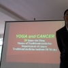 Dr. Hung, lecture on Yoga and Cancer, SYHET Course Vietnam 2018
